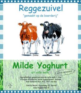 Reggezuivel Milde Yoghurt